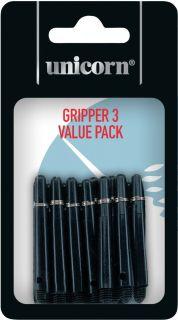 Gripper 3 Short Black 5-pack