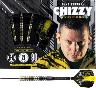 Harrows Dave Chisnall 90% Dartpijlen Kopen | Darts Warehouse