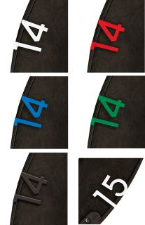 Unicorn HD2 Dartbord Nummers | Darts Warehouse