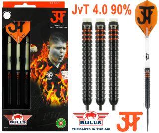 Justin van Tergouw JvT 90% 4.0 Bull's Dartpijlen   Darts Warehouse