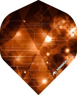 Mission Astral Orange Std. Dartflight | Darts Warehouse