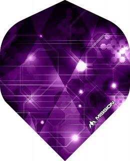 Mission Astral Purple Std. Dartflight | Darts Warehouse