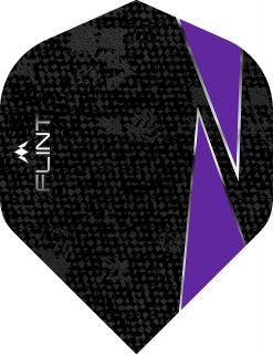 Mission Flint Std. Purple Dartflight | Darts Warehouse