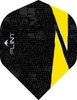 Mission Flint Std. Yellow Dartflight | Darts Warehouse
