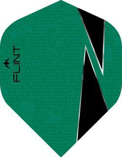 Mission Flint-X Std. Green Dartflight | Darts Warehouse