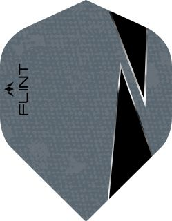 Mission Flint-X Std. Grey Dartflight | Darts Warehouse