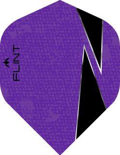 Mission Flint-X Std. Purple Dartflight | Darts Warehouse