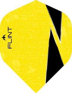 Mission Flint-X Std. Yellow Dartflight | Darts Warehouse
