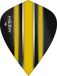 Mission Mesh Kite Yellow Dartflight | Darts Warehouse