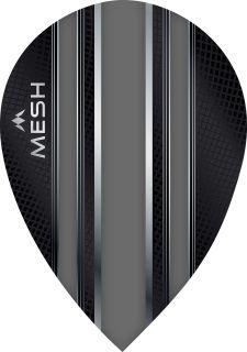 Mission Mesh Pear Grey Dartflight | Darts Warehouse