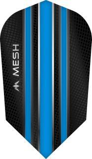 Mission Mesh Slim Aqua Blue Dartflight | Darts Warehouse
