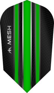 Mission Mesh Slim Green Dartflight | Darts Warehouse