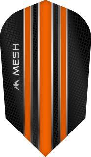 Mission Mesh Slim Orange Dartflight | Darts Warehouse