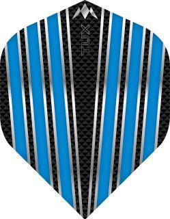 Mission Tux Std. Aqua Blue Dartflight   Darts Warehouse