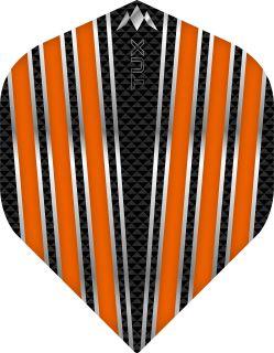 Mission Tux Std. Orange Dartflight   Darts Warehouse