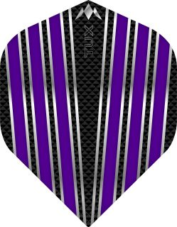 Mission Tux Std. Purple Dartflight   Darts Warehouse