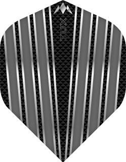 Mission Tux Std. Grey Dartflight   Darts Warehouse