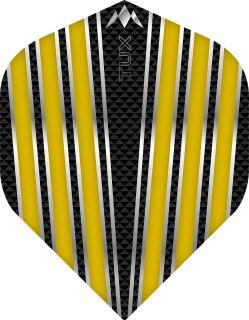 Mission Tux Std. Yellow Dartflight   Darts Warehouse