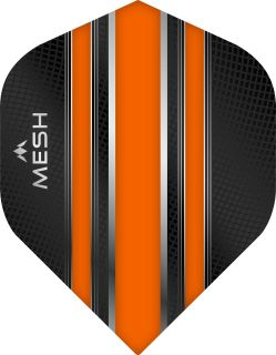 Mission Mesh Std. Orange Dartflight | Darts Warehouse