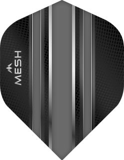Mission Mesh Std. Grey Dartflight | Darts Warehouse