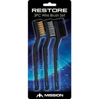 Restore Brush Cleaning Kit 3 Brushes   Darts Warehouse