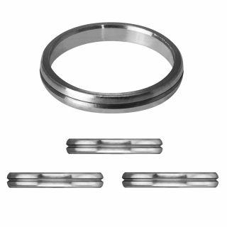Mission S-Lock Titanium Silver Rings 1 mm   Darts Warehouse