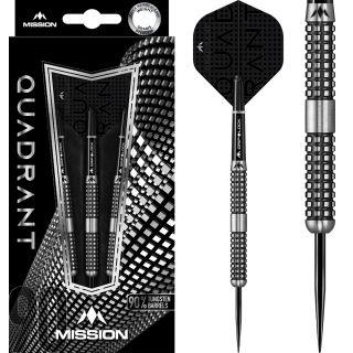 Quadrant 90% M4 Black Titanium Darts | Darts Warehouse
