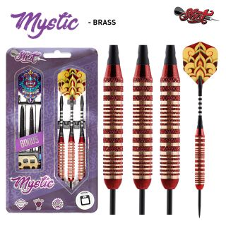 Mystic Brass Red 23 gram Shot Value Range   Darts Warehouse