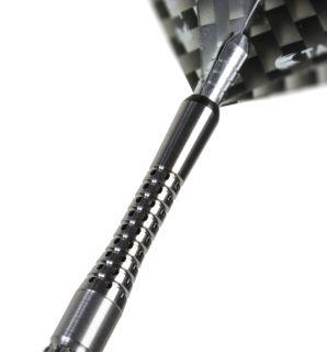 Pixel Grip Titanium Black Short | Target Shafts | Darts Warehouse
