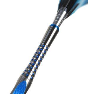 Pixelgrip Titanium Blue Medium | Target Shafts | DartsWarehouse