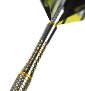 Pixel Grip Titanium Gold Short | Target Shafts | Darts Warehouse