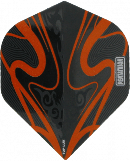 McKicks Pentathlon TDP LUX Orange   Darts Warehouse