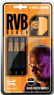 RVB Black Brass Target Raymond van Barneveld | Dartswarehouse