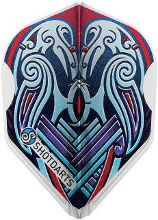 L-Style Viking Raven Blue L3 Shape