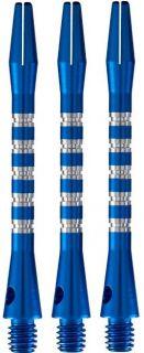 Pyramide Aluminium Shaft Mat Blue Medium   Darts Warehouse