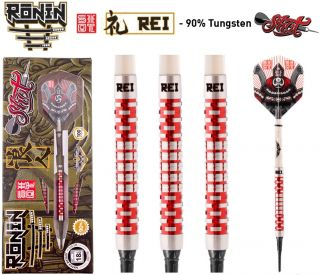 Shot Ronin Rei 1 CW 90% Softtip Darts | Darts Warehouse