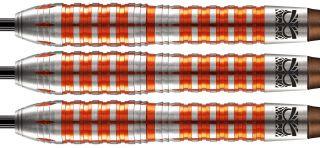 Totem 3 Orange 85% Steeltip Darts | Darts Warehouse