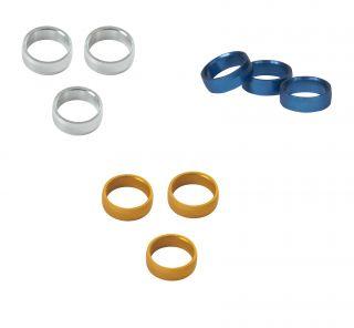 Target Slot Lock Rings 2mm 3pcs   Darts Warehouse