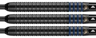 Mission Deep Impact 80% M4 Black Blue Softtip | Darts Warehouse