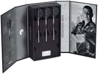 Softtip Noir Gary Anderson Phase 3 90%   Darts Warehouse