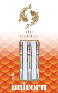 Softtip Koi Orange 90% Unicorn Dartpijlen | Darts Warehouse
