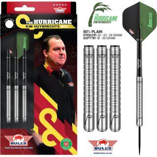 Kim Huybrechts 80% Plain| Bull's Darts | Darts Warehouse