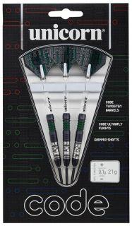 Code 80% Black Green Unicorn Darts   Darts Warehouse