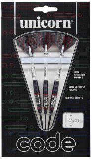 Code 80% Black Red Unicorn Darts   Darts Warehouse