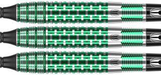 Agora Verde AV30 90% Tungsten Softtip Darts   DartsWarehouse