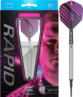 Ricky Evans 90% Tungsten Softtip Target Dartpijlen | Darts Warehouse