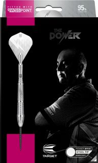 Phil Taylor Power 9FIVE Gen.6 95% Swiss | Darts Warehouse
