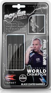 Phil Taylor The Power Storm Darts | Dartswarehouse