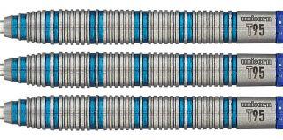 Unicorn Core XL T95 Blue 1 Darts | Darts Warehouse