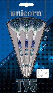Unicorn Core XL T95 Blue 2 Darts | Darts Warehouse
